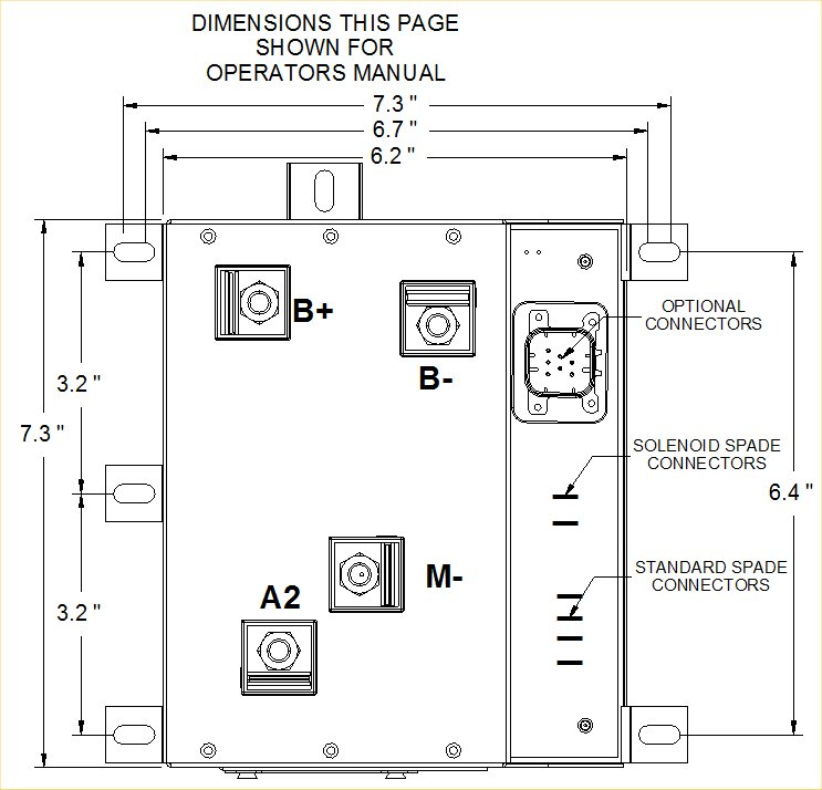 View Dimensions: Western Golf Cart Wiring Diagram Model 200 At Executivepassage.co