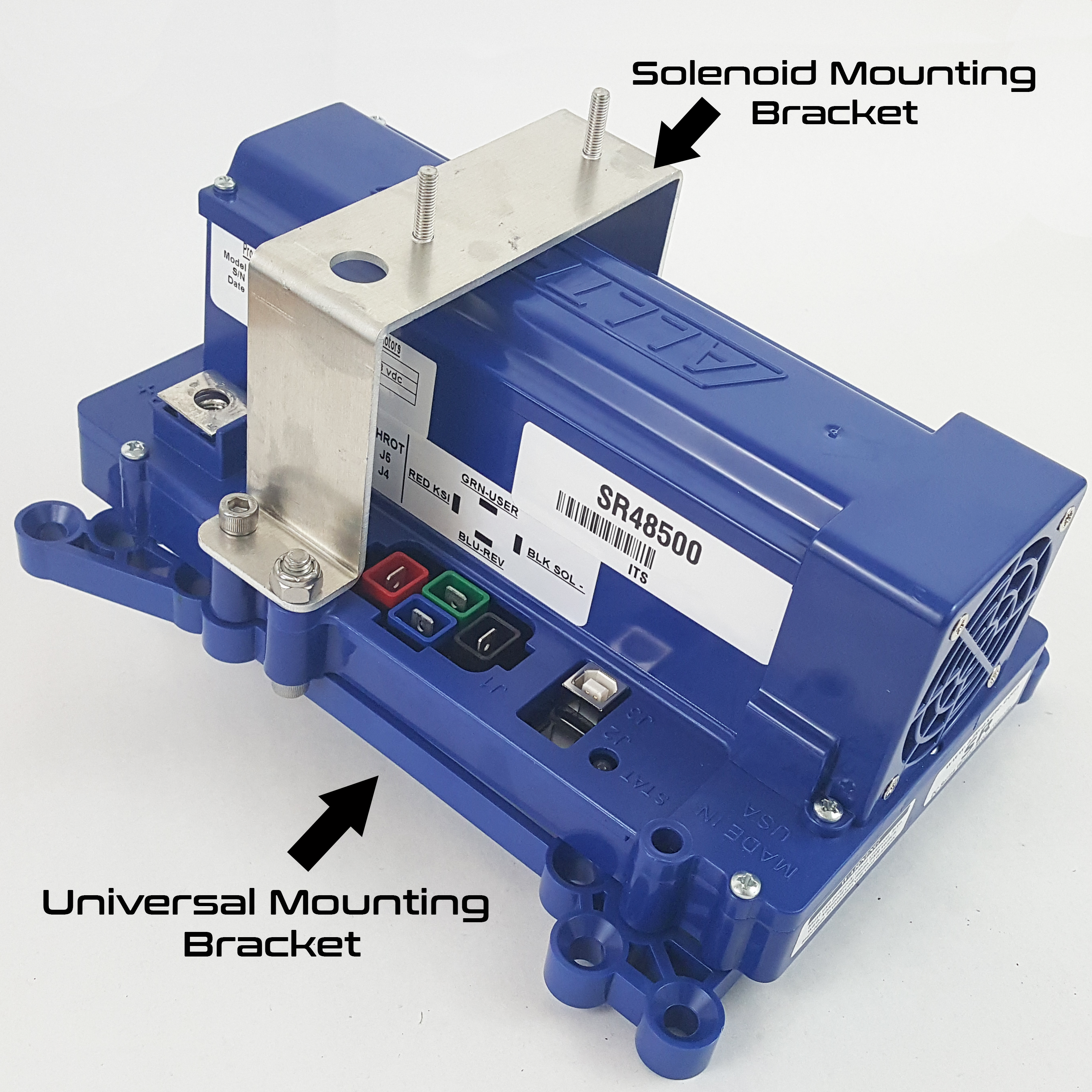 Sr Series Controllers Alltrax Free Download Wiring Diagram Ordered For Ez Go Come With The Universal Mounting Kit Solenoid Bracket And Hardware